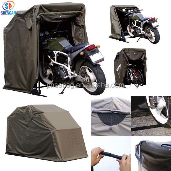 300d oxford pliable moto couverture couverture de moto garage abri buy en plein air moto abri. Black Bedroom Furniture Sets. Home Design Ideas