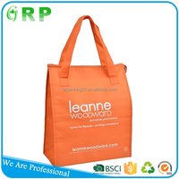 Good textured bag low-carbon pp non woven hot and cold cooler bag