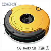 Humanized design smartness mini robot vacuum floor sweeper, with one year guarantee period