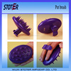 sillicon pet massage brush