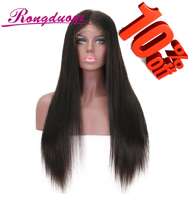 Wholesales Brazilian Human Hair Full Lace Wig Silky Straight wig