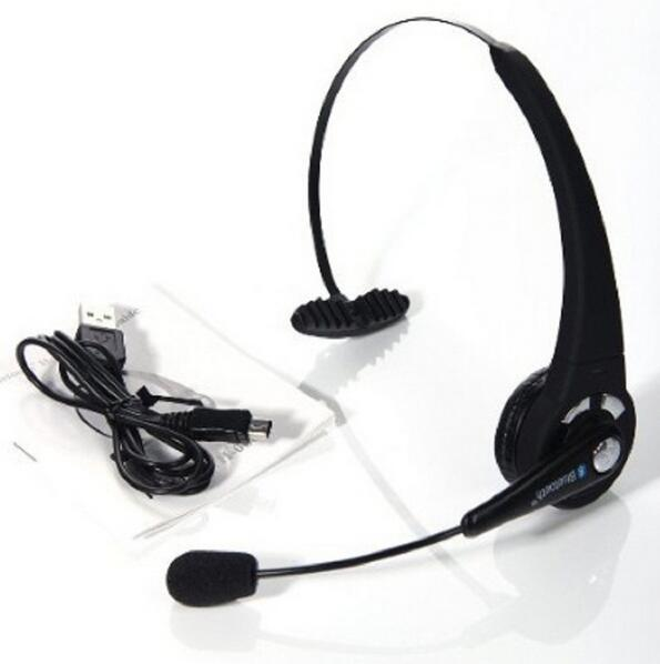 Multipoint Headband Chatting Bluetooth Headset BTH-068,Headwearing Wireless Headset with Microphone for iPhone/PS3/PC/Smartphone