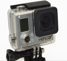 Wholesalet Skeleton Protective Housing Case for Gopro Hero 3+ Open Side shell for Gopro Underwater Outdoor Sports Housing