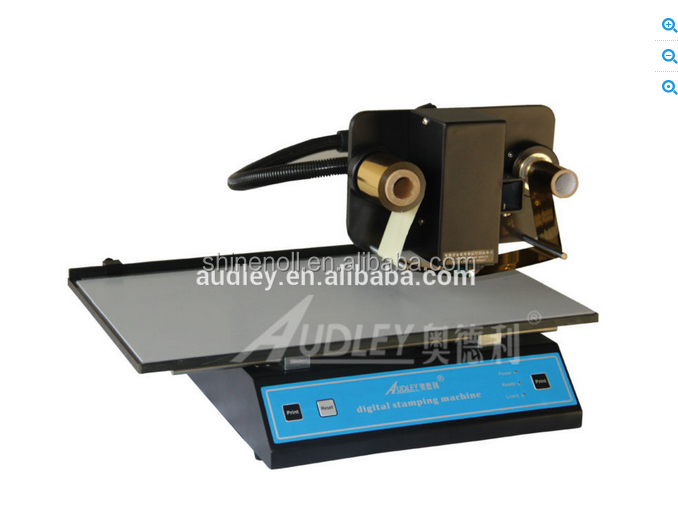 Popular digital stamping machine .foil printer on the book diary-SN-3050A