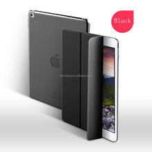 Competitive case pure color pu leather case for ipad air cover for ipad 5 case