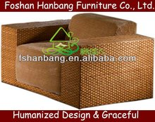 Wicker Relaxing Single Couch For Living Room