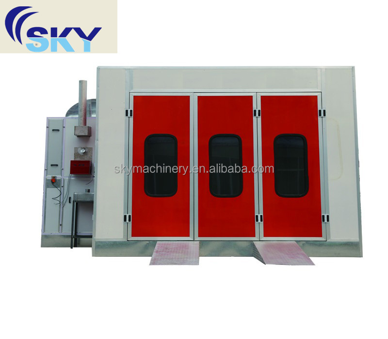 alibaba website China manufacture new product CE proved spray booth/auto paint oven/ wood painting spray machine