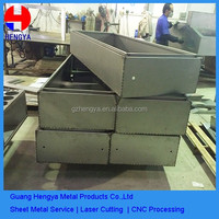 Laser cutting/welding/cutting/bending precision metal sheet fabrication