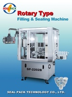 New Automatic Filling Sealing Machine Fried soft ice cream machine