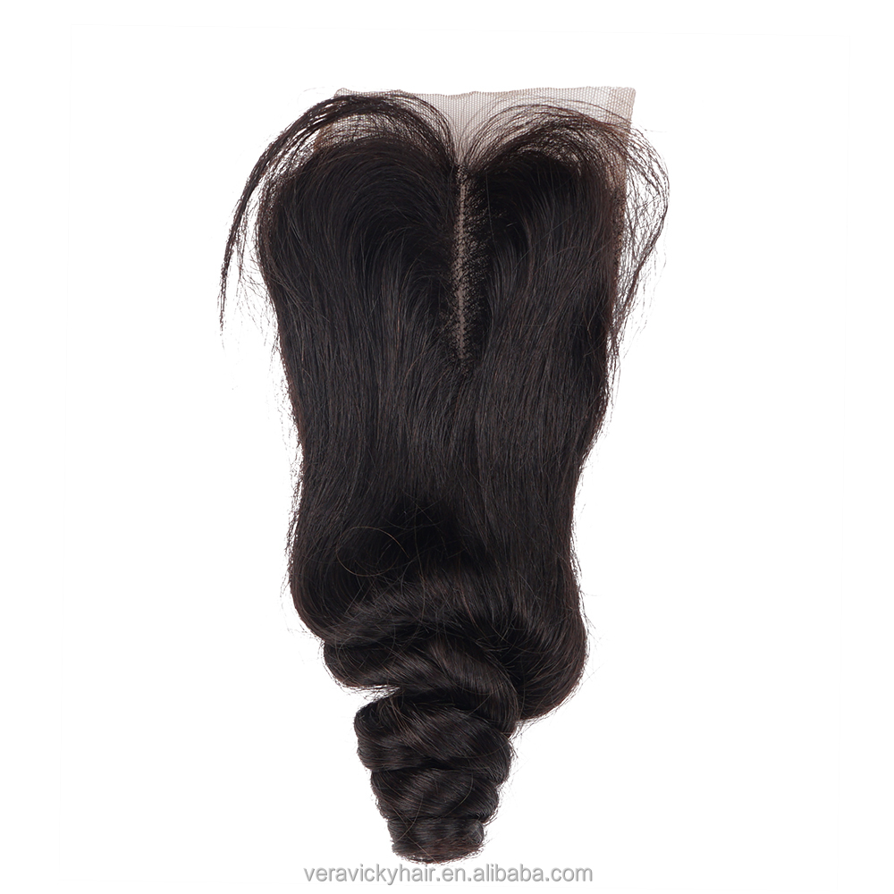 <strong>Cheap</strong> Unprocessed Brazilian Closure Virgin Human Hair Lace Closure Bleached Knots Free Middle Part Closures Piece