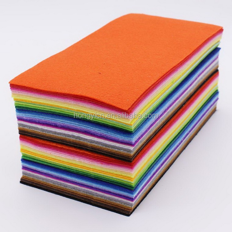 Colorful Viscose and polyester needle punched nonwoven fabric cleaning cloth