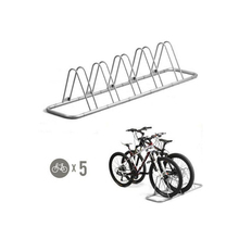 5 Slots Easy Assembling Collapsible Mountain Bike Display Stand-- Advanced Style