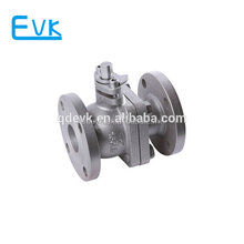 Cast iron flanged ball valve PN16