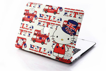 lovely hello kitty plastic cases for macbook