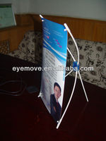 aluminum flex roll up banner stand