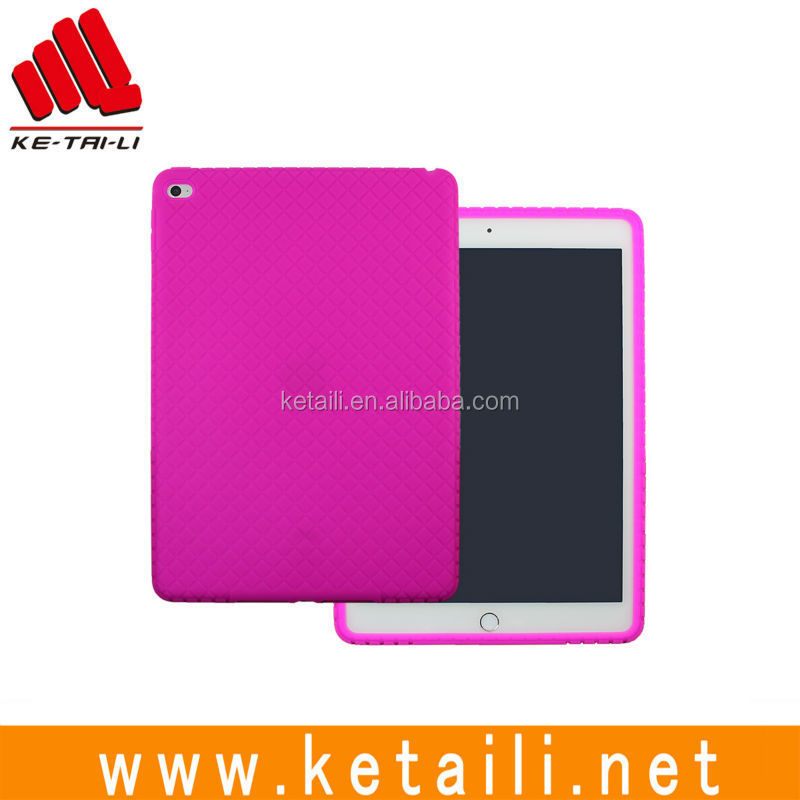 For iPad mini air pro 7.85 9.7 12.9 inch protective silicone rubber plastic tablet case cover supplier