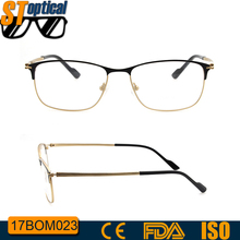 2017 women double color optical new stylish china titan latest model spectacle frame