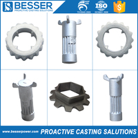 New design customized OEM stainless steel gear wheel casting