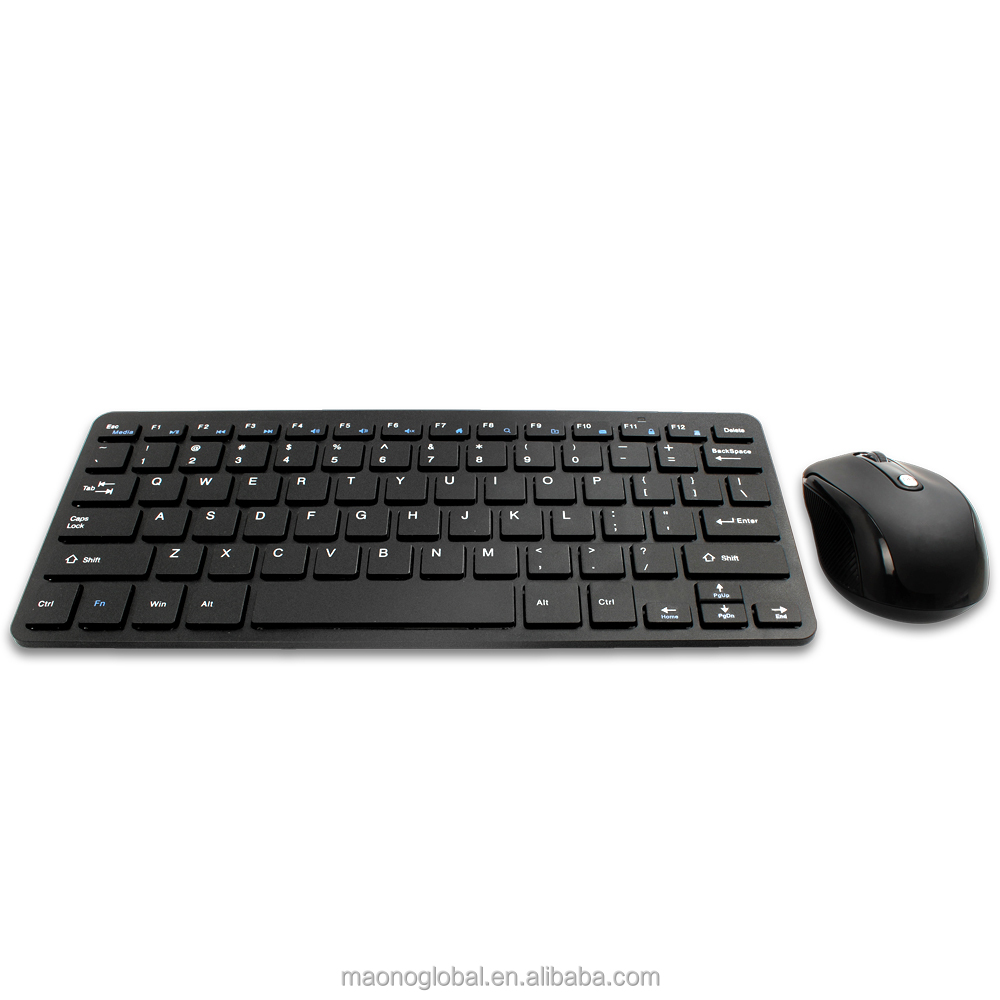 2.4GHz wireless keyboard and mouse combo for PC computer laptop