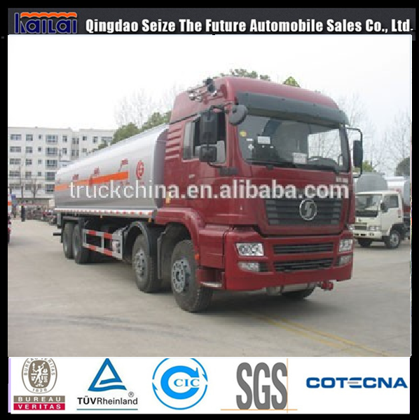 SHACMAN F3000 6x4 chemical tanker truck 20m3 oil tanker truck for sale