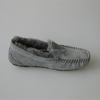 China wholesale handmade authentic moccasin