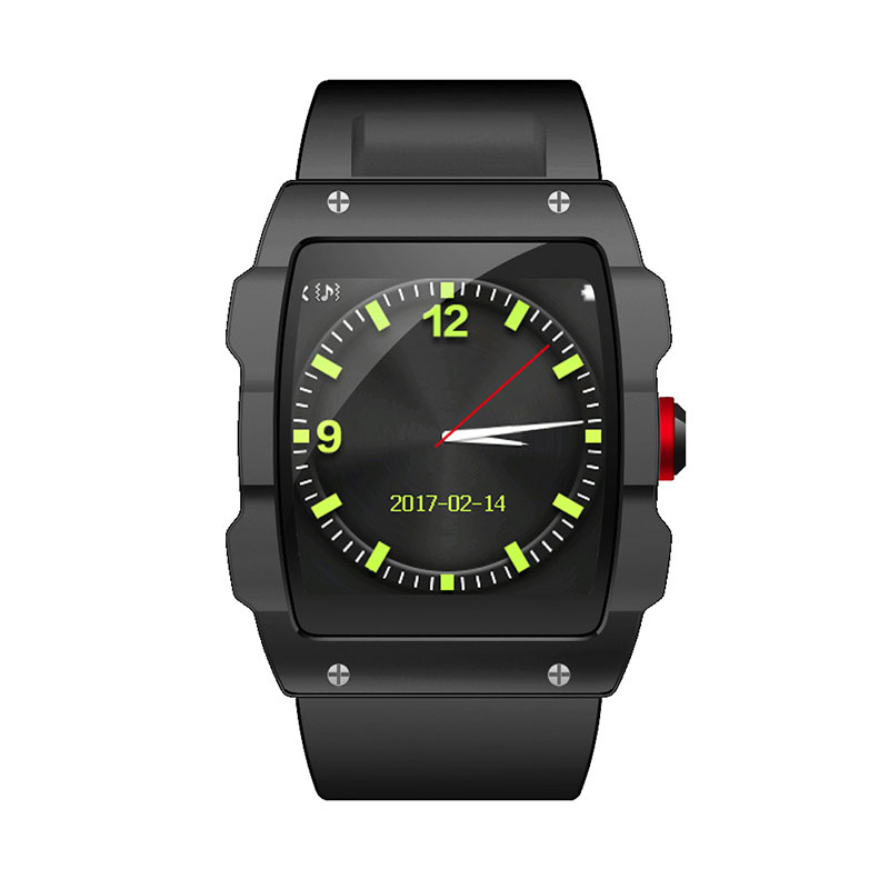 smart watch 2017 V18 new gps tracking sport style SIM+TF bluetooth music For IOS Android phone