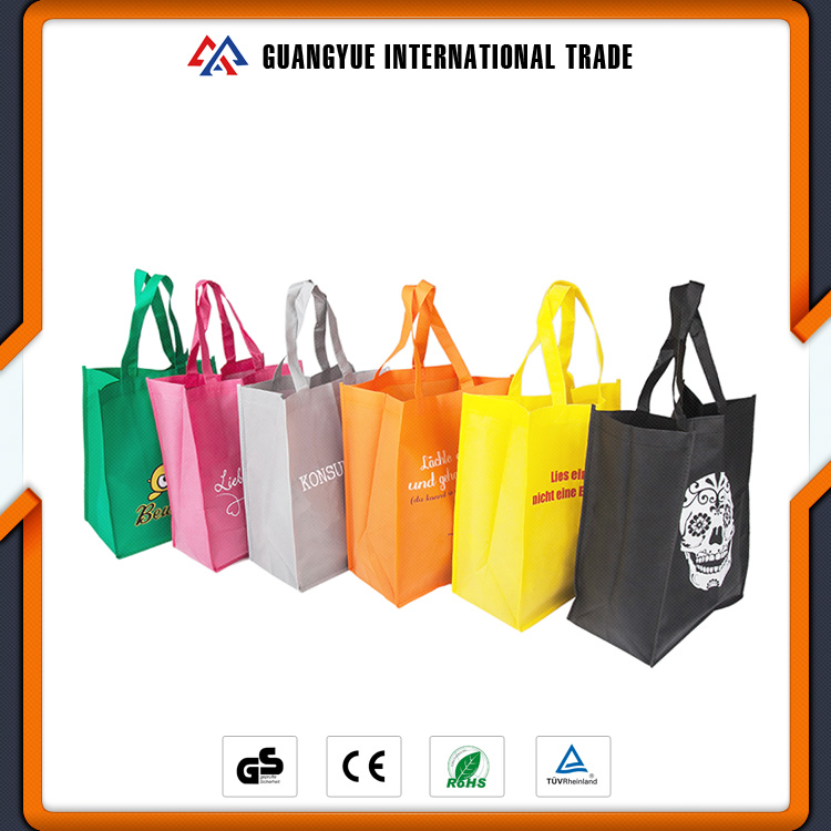 Guangyue Newest Product Reusable Custom Made Non Woven Shopping Bags