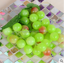 OEM Green Artificial Grapes, Fake Grapes Bunch, Artificial Fruit Ornament