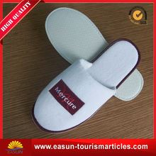 Low price white waffle men spa slippers soft hotel travel disposable slippers new disposable indoor slipper