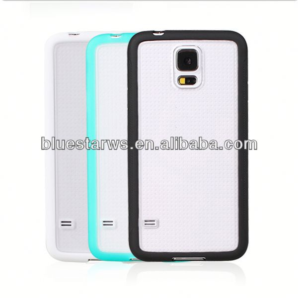 2014 hot sell hot new products for 2014 for samsung galaxy s5 pc tpu case