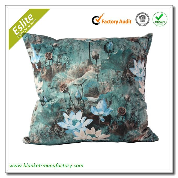 2017 China Style Digital Printed Chair Sofa Cushions Cover