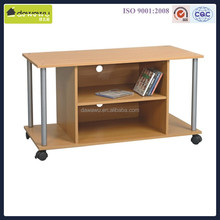 modern beech color wooden tv stand pictures
