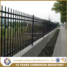 Australia standard spear top security steel fence panel