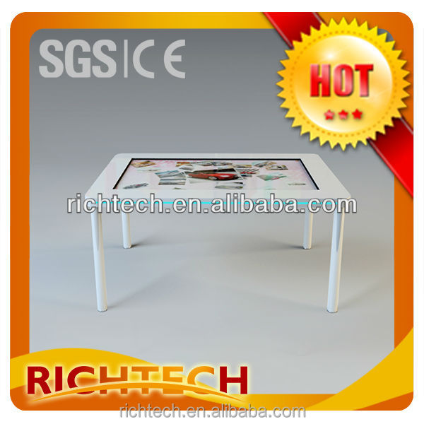 32 inch touch screen /multi touch table with LCD screen display for the using of touch screen conference table