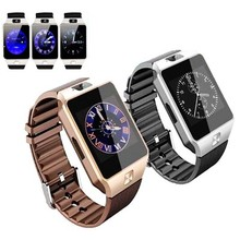 Smart watch DZ09 with camera TF card SIM bluetooth sleep monitor pedometer for mobile phones pk gv18 aplus apro gt88 watches