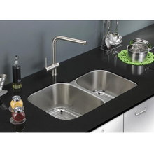 AISI304 Superior stainless steel kitchen sink with double bowl 60/40