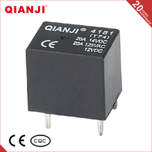 QIANJI Alibaba China Relay 12V 20A NO/NC Type 0.6W T74 T78 PCB Relay