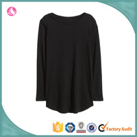 Ladies' Fancy Patterns Long Sleeves Customized Casual Blouse Top