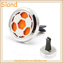football design Stainless Steel vent diffuser car perfume With Clip High Quality 2018