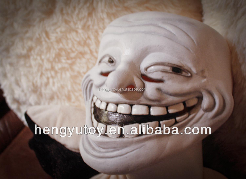 Creepy Latex Troll Mask For Halloween Adult Dress Up - Buy Latex ...