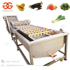 Air Bubble Type Black Radish Blueberry Palm Dates Peanut Sorting Cleaning Leaf Vegetable and Fruit Banana Washing Machine