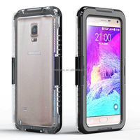 Top sale alibaba book style cover case premium waterproof phone cover for Samsung Note 4