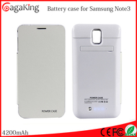 Cover case for samsung galaxy grand prime for samsung note3 with leather 4200mah wholesale power bank