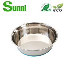 dogs professional wholesale stainless steel disposable pet bowl