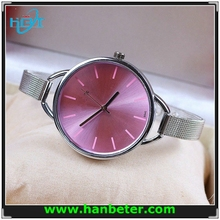 2015 fashion lady small wrist of stainless steel brand second hand watches with cheap price