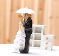 Showered with Love Couple Figurine for wedding cake toppers in stocks