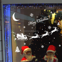 christmas wall decals window decal for christmas art vinyl removable window decals for kids christmas home decoration wall