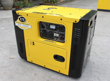 5500watts diesel generator AC output with soundproof canopy