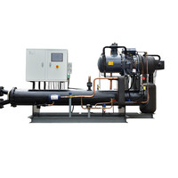 Screw compressor refrigeration unit