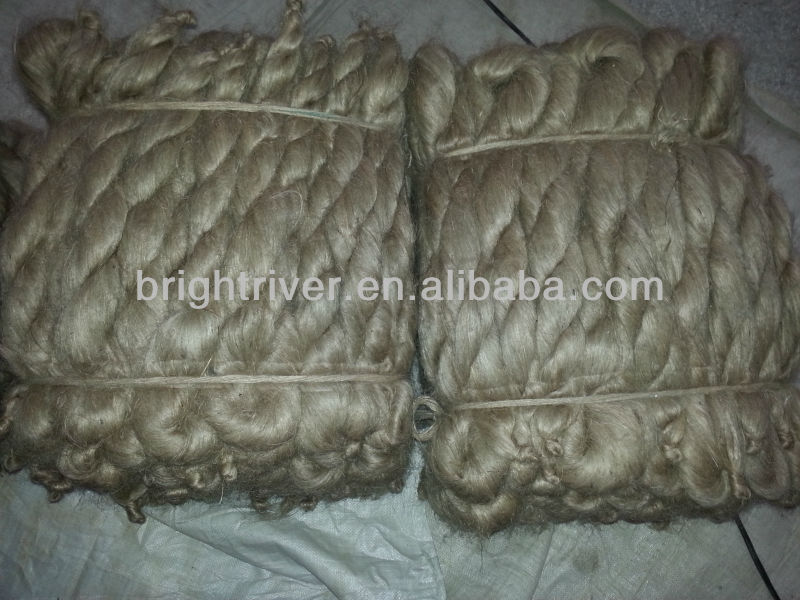 High Quality Buck Eco Friendly Golden Natural Fiber Raw jute